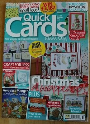Quick Cards Made Easy Magazine - Issue 94 Christmas 2011