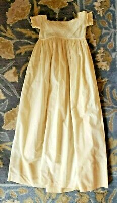 Late 1800s Victorian Child's Christening Gown - Delicate Lace Bodice & Sleeves