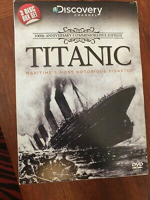 Titanic 100th Anniversary Commemorative Edition DVD From The Discovery Channel