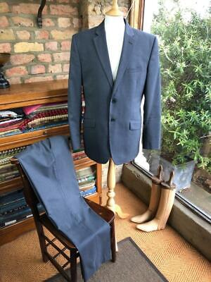 TED BAKER 'Elevated Stretch' UK 40L W33-34L32.5 Slate Grey Two-Piece Suit