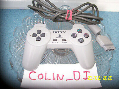 Sony Playstation Controller for PS1 SCPH-1080 Grey Genuine Official
