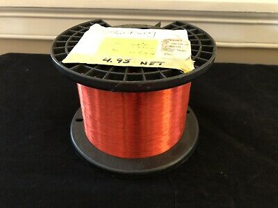 Essex Copper Magnet Wire 36 AWG Red 5lbs