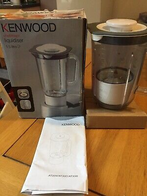 Kenwood Liquidiser Blender Attachment AT337 for Chef/Major 1.5 Litre