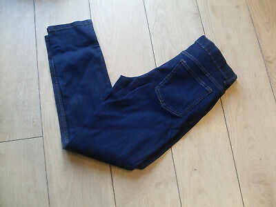 M & S Boys Skinny Fit Jeans With Stretch - Dark Blue - Age 13-14 Years - Bnwt