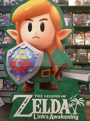 The Legend of Zelda Link's Awakening LINK Standee (EX SHOP DISPLAY)