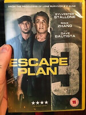 Escape Plan 3 [DVD] WATCHED ONCE