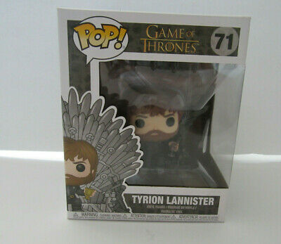 Tyrion Lannister On The Throne Funko Pop Game of Thrones #71 New Sealed NIB