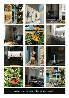 Holiday cottage in old Staithes nr Whitby Sleeps 4 Dog friendly Beach Pubs Walks
