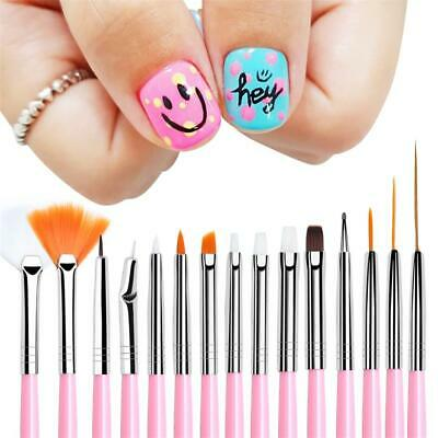 Pen Acrylic Brushes Liner Painting Pen UV Gel Nail Brush Gradient Manicure