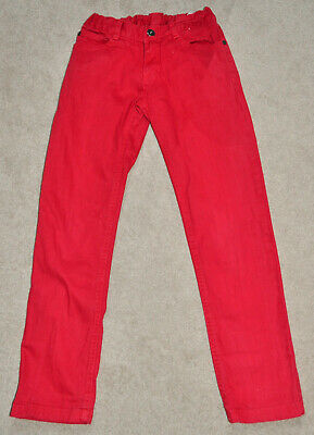 Fred Bare girls red jeans, great condition, size 8 years