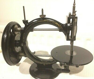 Antique 1870s Little Wanzer Time Utilizer Sewing Machine