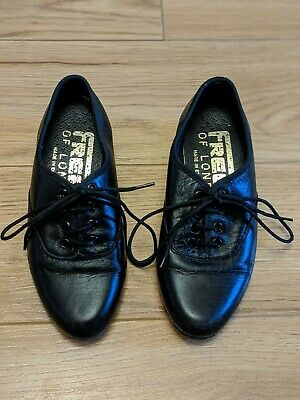 Boys Freed Leather Ballroom Dance Shoes Size Junior 10