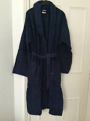 Nevy Cotton Bathrobe Towelling Dressing Gown With Belt