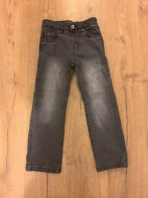 Boys Next Black Faded Grey Slim Denim Jeans Age 7
