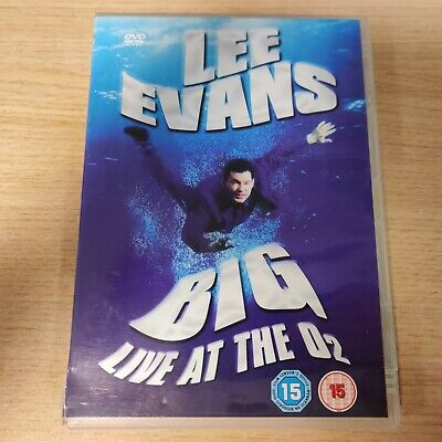 BOXED - Lee Evans - Big - Live At The O2 (DVD, 2008)