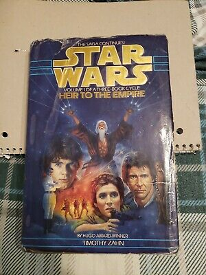 Star Wars the Thrawn Trilogy: Heir to the Empire 1 by Timothy Zahn (1992, Hardc…