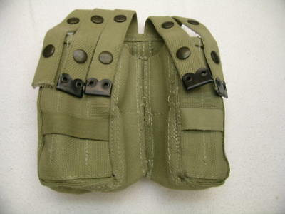 Pair of Israeli IMI Desert Sand 9MM Magazine Pouches Mil-Grade New Unissued