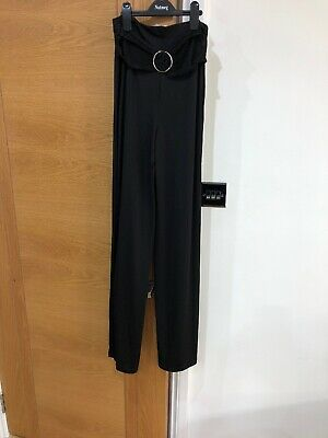 Womens Brand New With Tags On Asos Size Uk Wide Leg Trousers With Splits