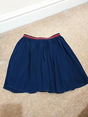 Beautiful Girls Next Pleated Skirt Navy And Red Size 8 Years