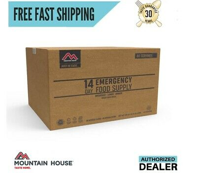 New 2020 Clean Label Mountain House Just in Case® 14 Day Emergency Food Supply