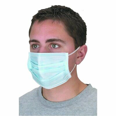 3 Ply Disposable Surgical Dental Dust Flu Virus Face Mask & Ear Loop Masks Mouth