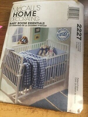 McCall's Home Decorating #2227 Baby Room Essentials