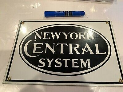 NEW YORK CENTRAL SYSTEM Reproduction  porcelain Metal Sign 8'x 12""
