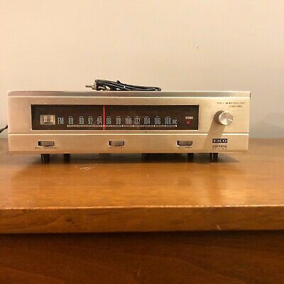 EICO 3200 Cortina Series Solid State FM MPX Stereo Tuner, tested Working,