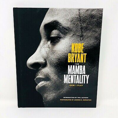 The Mamba Mentality How I Play by Kobe Bryant Hardcover Book Instock Now