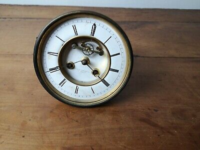 Antique Large Movement of Pendulum Brocot Bosson a Annecy 1840 Medaillé D Gold