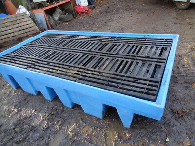 1200 Litre - Large Spill Tray ( Bund ) - For Oil      Or     Chemicals  Ect