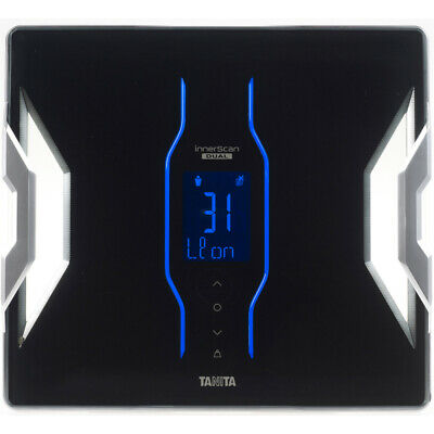 Tanita RD953BK Bluetooth Connected Smart Scale with Body Composition Monitor -