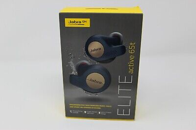 Jabra Elite Active 65t Wireless In Ear Sports Earbuds with Charging Case -...