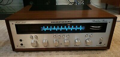 MARANTZ Model 2245 VINTAGE Stereo Receiver w/Cabinet FULLY WORKING