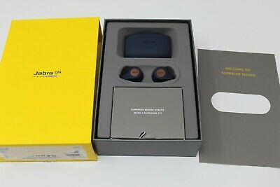 Jabra Elite Active 65t Wireless In Ear Sports Earbuds with Charging Case-- BLUE