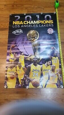 "Kobe Bryant Lakers Poster 24""x36"" 2010 Champions FRAME QUALITY COLOR  POSTER"