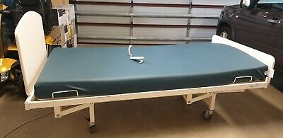 Engrit extra wide single electric hospital bed