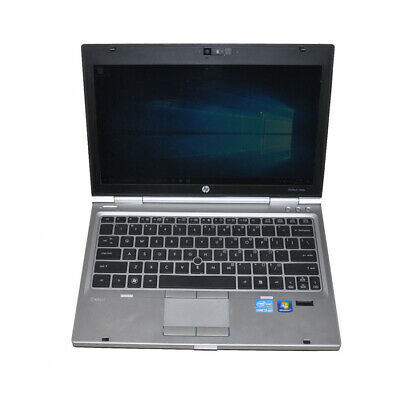 "HP Elitebook 2560p 12.5"" Laptop i7-2620M@2.7GHz CPU 4G RAM 500G HDD Win 10 Pro"