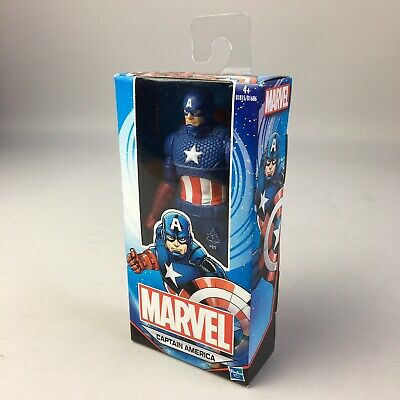 """Marvel Captain America 6"""" Action Figure Collectible Toy - Hasbro Brand New"""