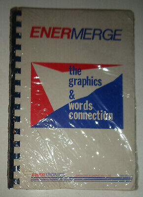 EnerMerge by Enertronics - MINT, SEALED - 1989. For IBM PC, XT, AT