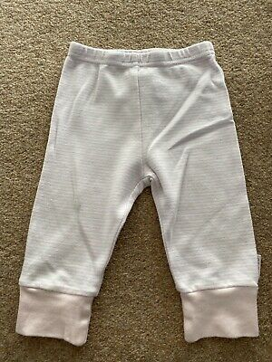 Baby Girls Light Pink and Blue Leggings Trousers by NEXT. Age 3-6m
