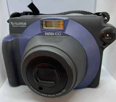 Fujifilm Instax 100 Instant Camera Vintage Polaroid Type Camera Photography