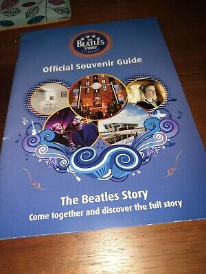 The Beatles Story Liverpool  Official Souvenir Guide. In Very Good Condition