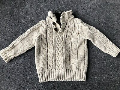 Baby Boys Gap Knitted Jumper.  Age 2 Years