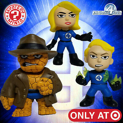 Funko Mystery Minis Marvel Fantastic Four Target Exclusive Lot of 3