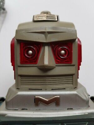 Alps Missile Robot Tin Japan Space Toy Scarce