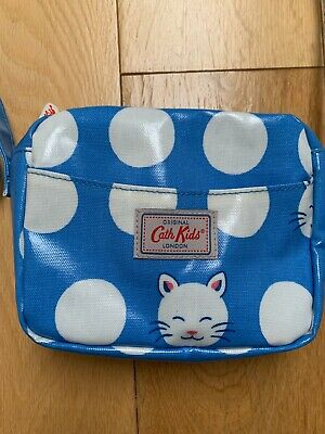 New Without Tags CATH KIDSTON KIDS Cat / Kitten Bag Polka Dots / Oilcloth