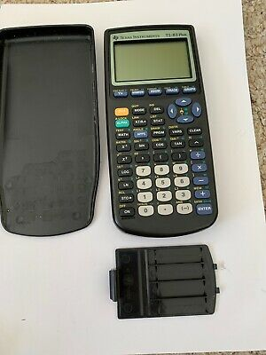 Texas Instruments TI TI-83 Plus Graphing Calculator For Parts
