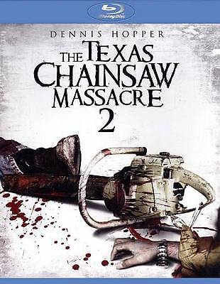 The Texas Chainsaw Massacre 2 [Blu-ray] LIKE NEW WITH ALT COVER INSERT