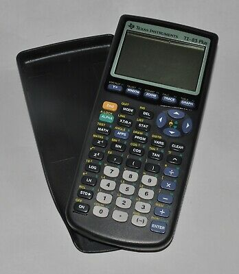 Texas Instruments TI-83 Plus Graphing Calculator w/ Cover Works No Problems